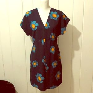 Banana Republic Floral Dress- Size 10P